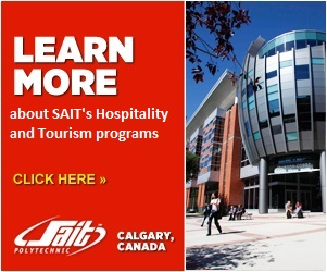 Learn more about SAIT's hospitality & tourism program