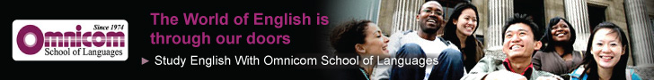 Study English at Omnicom School of Languages