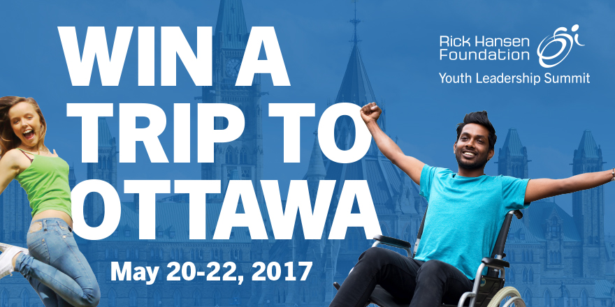 Join Rick Hansen At The RHF Youth Leadership Summit!