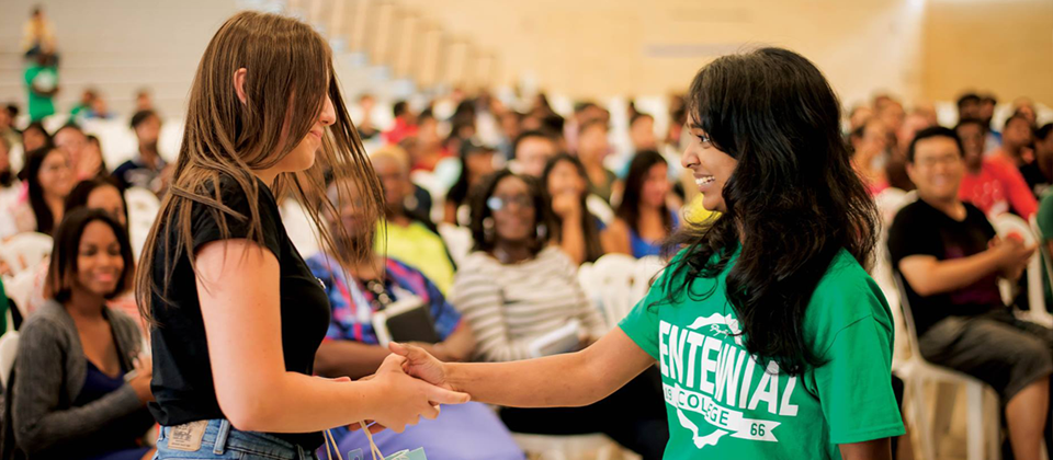 Centennial College Draws the World to its Doorstep