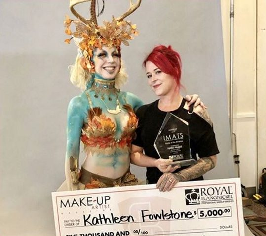 Kathleen Fowlstone: First Place at IMATS LA 2018