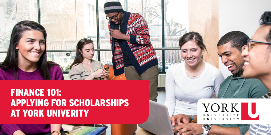 Finance 101: Apply for Scholarships at York University