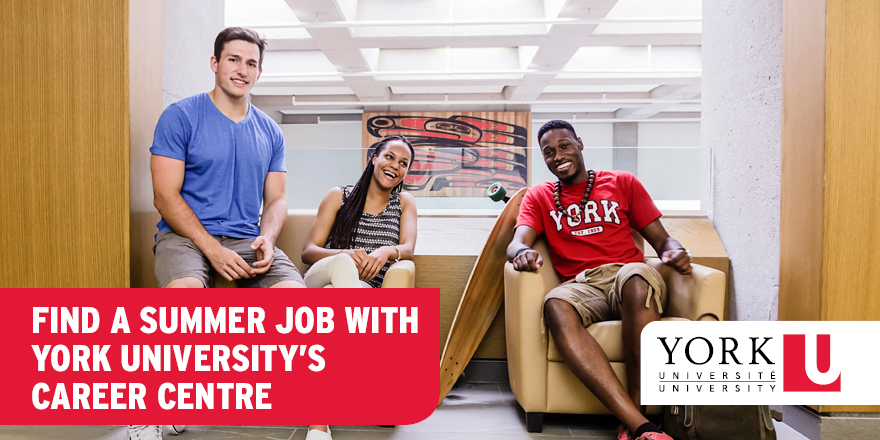 Find a Summer Job with York University's Career Centre
