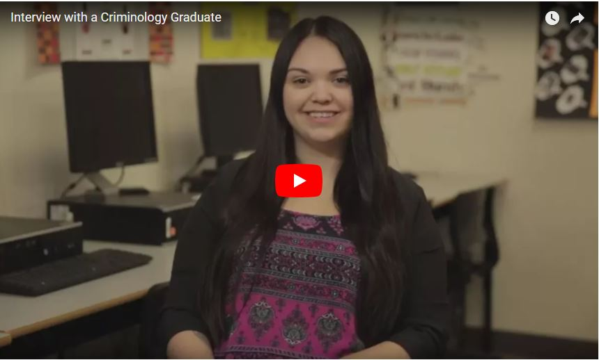 Eastern Colleges - Interview with a Criminology Graduate [VIDEO]