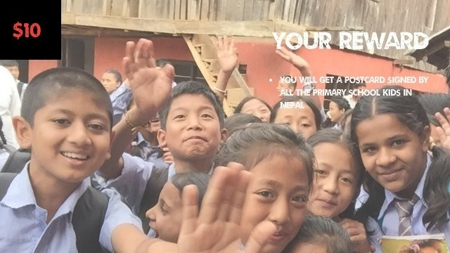 GIVING BACK: Funding a Primary School in Nepal
