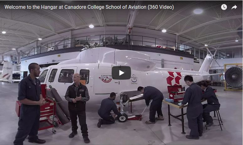 Canadore College School of Aviation [VIDEO]
