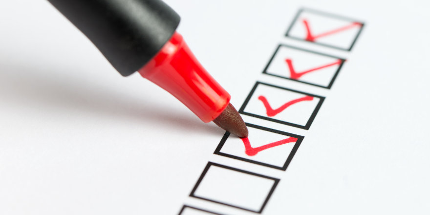 Scholarship Application Checklist
