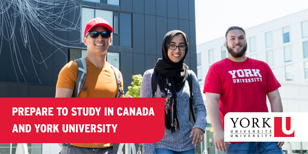 International students at York University prepare for their stay in Toronto, Canada, by checking through this article for the most important tips and advice on housing, money, and offer letters.