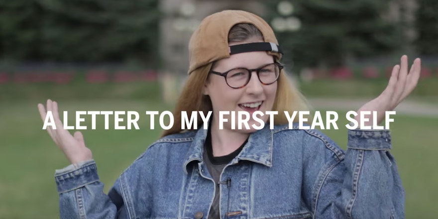 A student of Western University reflects on sending a letter of advice to her first year self.