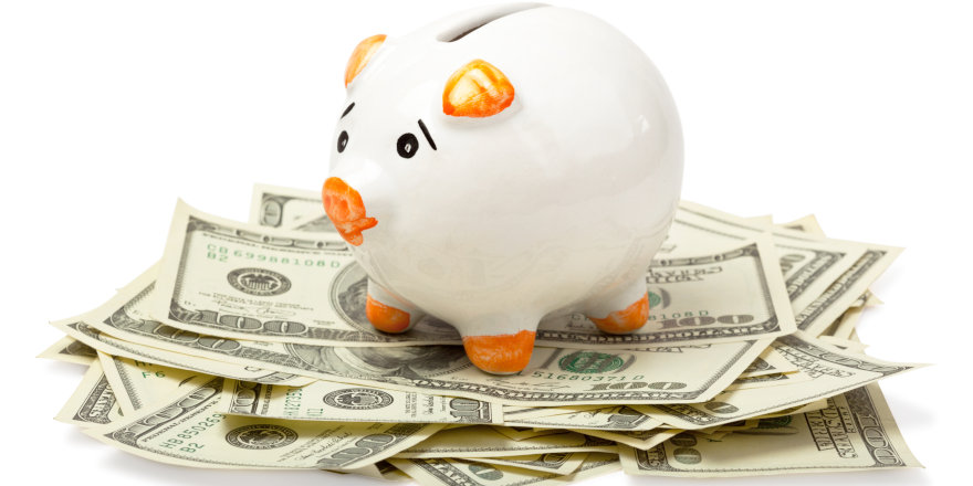 A piggy bank provides yet another alternate aid option if student loans and lines of credit from banks don't cut it.