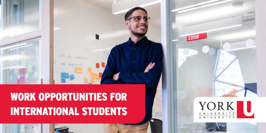 Did you know that you can work while you study at York University?