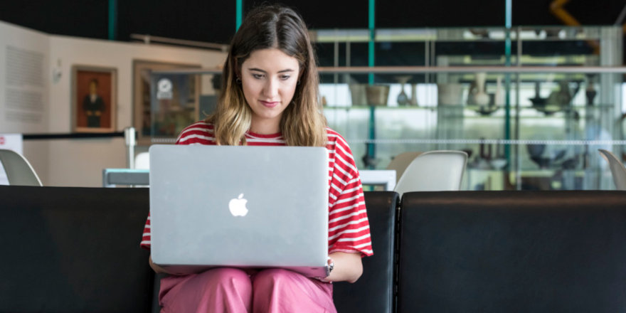 An active, well-rounded, motivated applicant prepares her personal statement for UCAS, using the University of East Anglia's helpful advice.