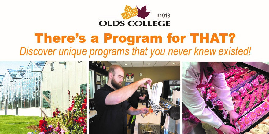 Olds College and its many fascinating programs that you might not expect!