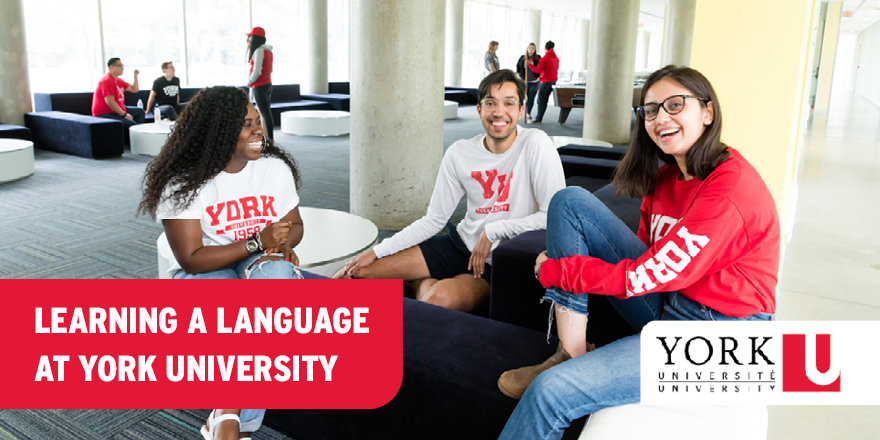 Learn a language at York University to help your career prospects in the future!