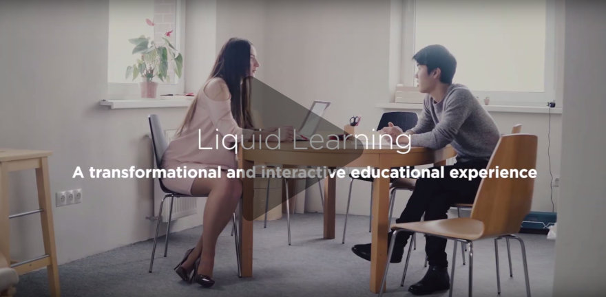 Liquid Learning at IE University blends the best of the physical, natural and digital worlds.