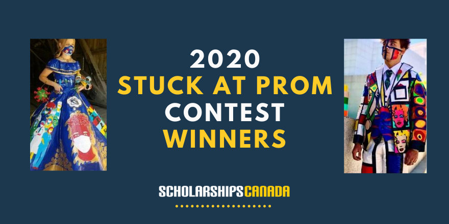 The winners of the 2020 Stuck at Prom contest have been announced!