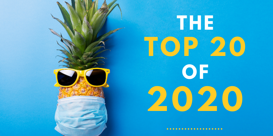 Check out the programs, careers, scholarships, and more, that topped the charts during this crazy year, 2020.