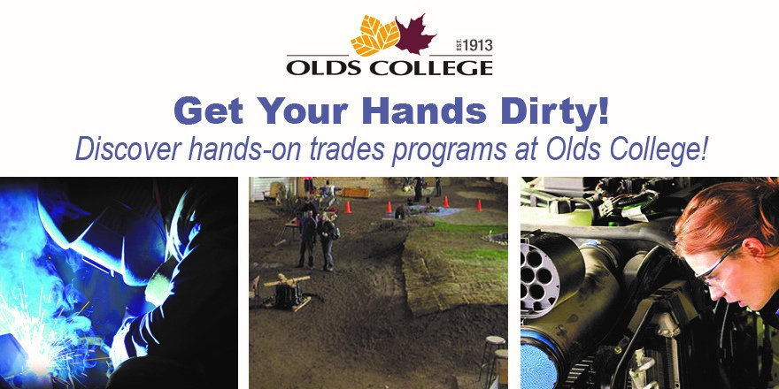 Discover hands-on training in the trades at Olds College.