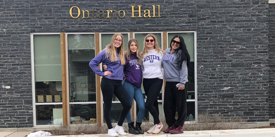 Western University students share their thoughts on what living in residence was like for them.