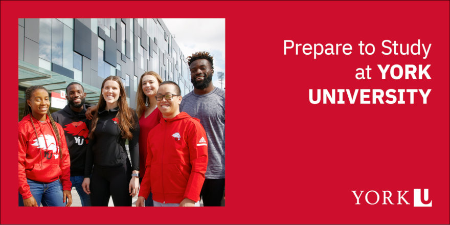 Prepare to Study in Canada and York University