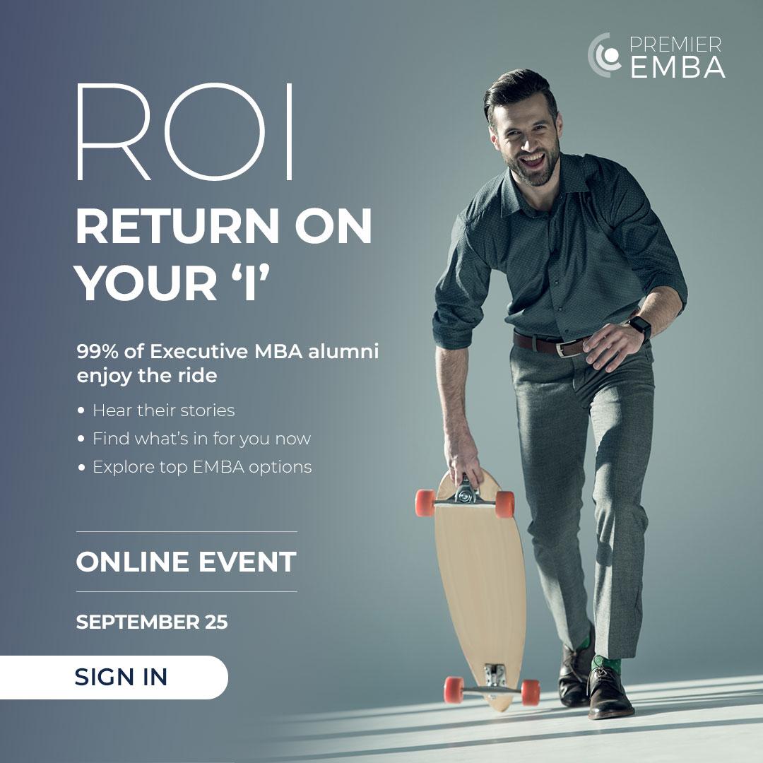 Premier EMBA event