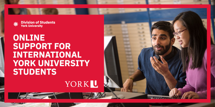 Distance Support for International York University Students